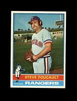 1976 Topps Baseball #303 Steve Foucault (Rangers) NM-MT