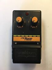 Washburn A-PH8 Phaser Phase Shifter Rare Vintage Guitar Effect Pedal MIJ Japan
