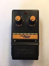 Washburn A-PH8 Analog Phaser Phase Shifter Rare Vintage Guitar Pedal MIJ Japan
