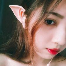 Elf Ears Earphones Costume Cosplay Spirit Fairy Earbuds For Smartphone MP3 MP4