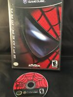 Spider-Man (Nintendo GameCube, 2002) Disc And Case No Manual. GUC! Tested