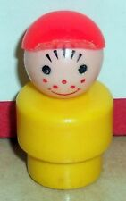 Vintage 80's Fisher Price Little People Yellow Boy #990 994 997 985