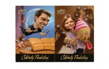 TOM CRUISE & KATIE HOLMES 2010 Upper Deck Celebrity Predictors Insert #CP7/CP8