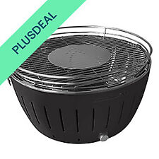 LotusGrill XL 40,5 cm raucharm Holzkohlegrill Tischgrill Grill - Anthrazit