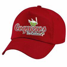 Coqueros de Colima Baseball color Red Cap Hat