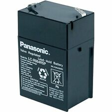 Panasonic Blei-Akku LC-R064R5P Pb 6V  4,5Ah USV RBC Ersatzbatterie