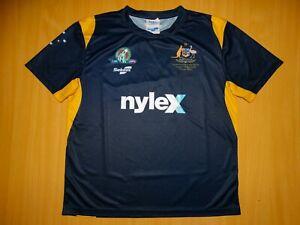 * AUSTRALIA AFL FOOTY shirt L Large jersey SEKEM INTERNATIONAL Football Ireland