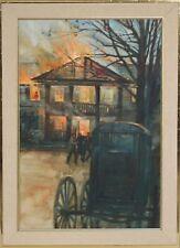 WALTER RANE-Lot of 5 Original WC Illustrations-Faulkner's Absalom-Franklin Mint