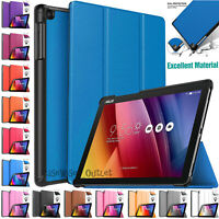"""Leather Magnetic Smart Stand Case Flip Cover For ASUS ZenPad 10 (Z301MF) 10.1"""""""