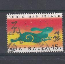 Christmas Islands 1999 Anno della lepre 468  USATO