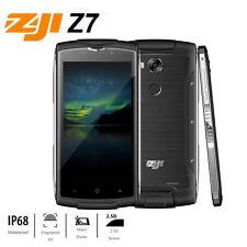 "ZOJI Z7 2GB+16GB IP68 Waterproof Touch ID 5.0"" Smartphone Android Quad Core 2SIM"