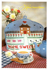 "Tea Cosy ""home Sweet Home"" in DK Knitting Pattern 0193"