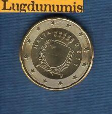 Malte 2011 - 20 centimes d'Euro - Pièce neuve de rouleau - Malta