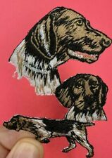 German Shorthaired Pointer Dog Breed Embroidered Dog Animal Iron On Patch