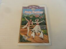 Mary Poppins (VHS, 1998) Disney Masterpiece, Clam Shell, Julie Andrews