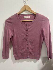 Alannah Hill Pink Cardigan Size 8