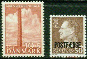 DENMARK– 1953-1967- SMALL LOT – VF*