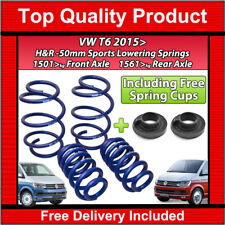 VW T6 TRANSPORTER CARAVELLE 2015-19 H&R LOWERING SPORTS SPRINGS KIT 50MM KIT-4