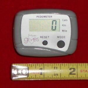 Grey Digital Pedometer Step Counter