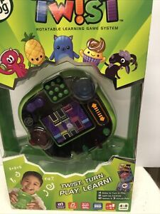 LeapFrog RockIt Twist Handheld Learning Game System Green - New
