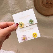 Fashion Women Flower Boho Stud Earrings Wedding Drop Dangle Party Jewelry Gift