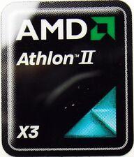 AMD ATHLON II X3 STICKER LOGO AUFKLEBER 18x21mm (370)