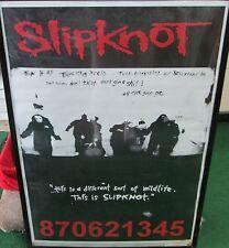 SLIPKNOT BLUE GRAPE VINTAGE METAL RARE SEALED 2000 POSTER  ROCK