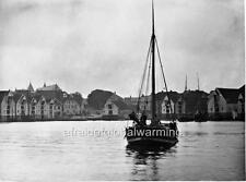 Photo.  1860s.  Stavanger, Norway.  View