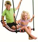NEW Strap Arch Hammock Swing Black/Red Cubby Playground Accessories Indoor Toys