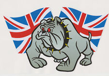 British Bulldog Flag Sticker/Decals,Car Motorbike Van