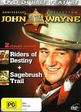RIDERS OF DESTINY + SAGEBRUSH TRAIL JOHN WAYNE NEW DVD
