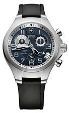Victorinox Quartz Swiss Army Black Strap Blue Dial Men's Watch V241465
