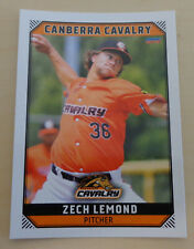 Zech Lemond 2018/19 Australian Baseball League- Canberra Cavalry - Texas AirHogs