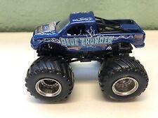 Hot Wheels Monster Jam BLUE THUNDER METAL BASE FORD TOUGH