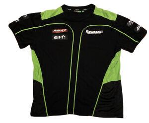 kawasaki Racing Team Tshirt Mens L/XL Motorcross/motorbike