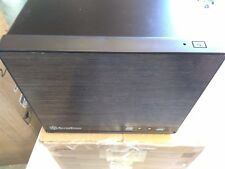 SilverStone Sugo SG13B-Q Black Quiet Mini-DTX, Mini-ITX SFF Computer Case