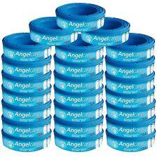 Angelcare Lot de 24 recharges pour Poubelle à Couches