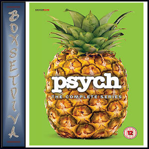 PSYCH - THE COMPLETE SERIES - SEASONS 1 2 3 4 5 6 7 & 8  **BRAND NEW DVD BOXSET*