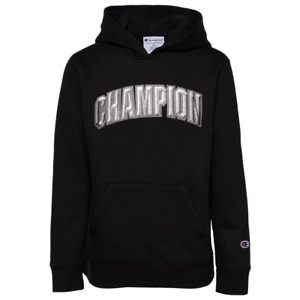 Boys champion hoodie floss XL NWT RETAIL $50.00 BLACK  AP