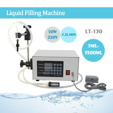 110V  AUTOMATIC LIQUID FILLING MACHINE LT130 QUANTITATIVE NUMERICAL CONTROL