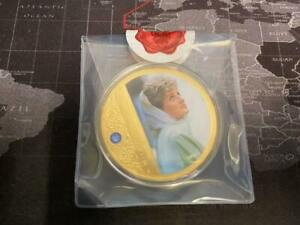 Diana, Princess of Wales' Supersize Commemorative Gold Plated Coin