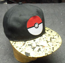 NEW POKEMON YOUTH BASEBALL CAP HAT, POKEBALL PIKACHU