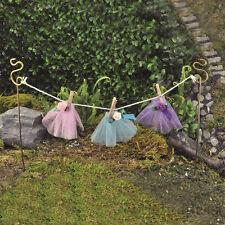Fiddlehead Fairy Garden - FAIRY HOME ACCESSORIES - Fairy Clothes Line Tutus