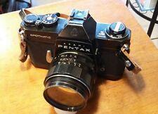 Pentax SP II Black w/Super Multicoated Takumar 50mm f1.4