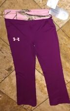 NWT Under Armour Realtree Purple Pink Camo Sports Athletic Pants Youth Girl's