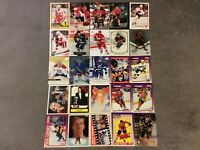 HALL OF FAME Hockey card Lot 1991-2019 WAYNE GRETZKY MARIO LEMIEUX  BRETT HULL