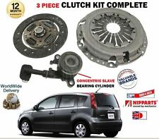 FOR NISSAN NOTE 1.6i HR16DE E11 2006-2013 NEW CLUTCH PLATE COVER BEARING KIT
