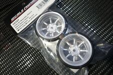 Scale Dynamics  10107  V16D RS Watanabe wheels (aluminum Silver) 9mm Offset