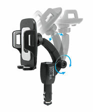 CAPDASE Car Charger Mount Flexi II Charging Arm F30 Strengthen Clamp - Black