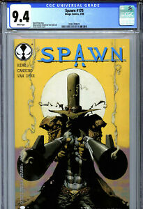 Spawn #175 (2008) Image CGC 9.4 White 2nd Appearance of Gunslinger Spawn!